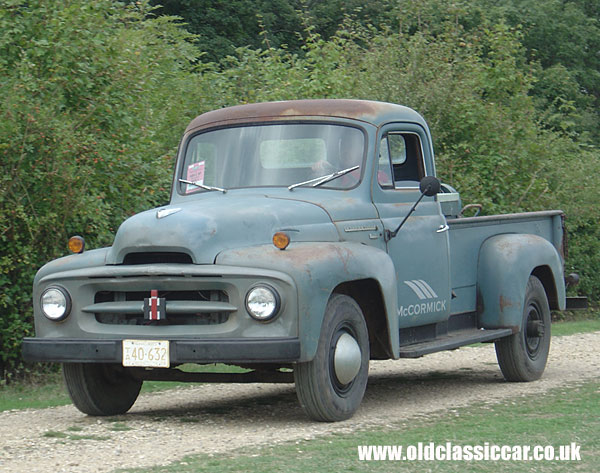 Old International Pickup Trucks http   www oldclassiccar co uk photos    Classic International Trucks