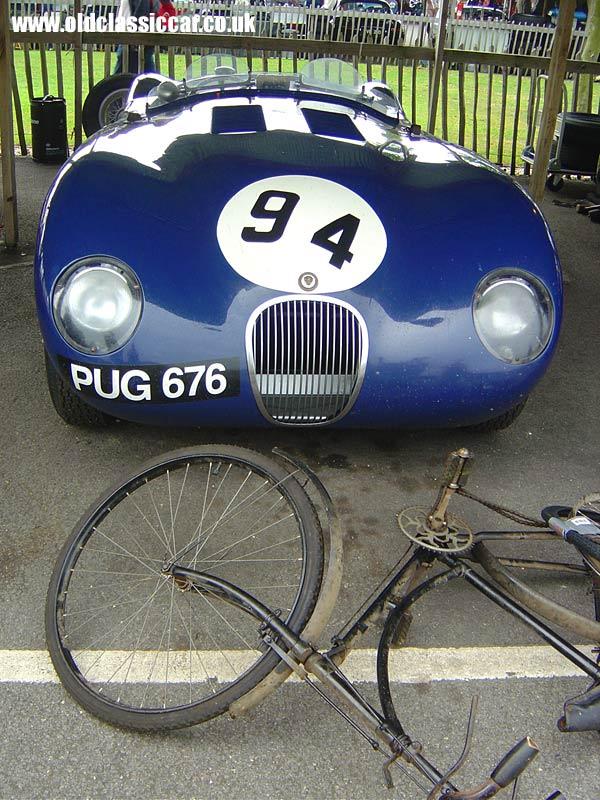 Jaguar C-Type at the Revival Meeting.