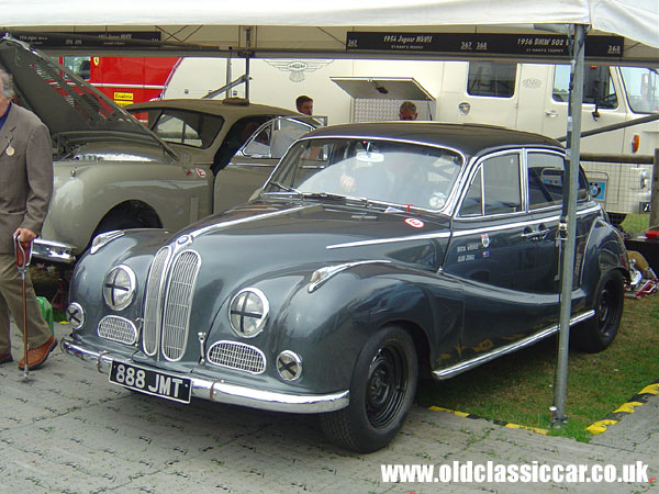 BMW 502 V8 at the Revival Meeting.