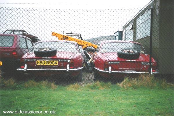 Jaguar Xj6 Series 1 Picture 1 Of 107 Unrestored And Scrap Car Photos