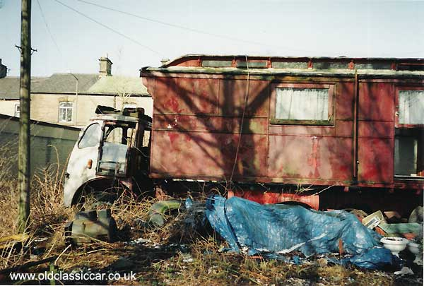 Scrap Cars Near Me >> Foden Lorry picture - #15 of 107 unrestored and scrap car ...