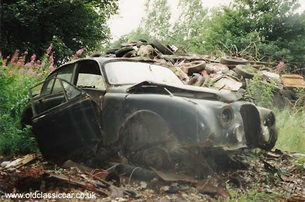Jaguar Mk2 Picture 58 Of 107 Unrestored And Scrap Car Photos