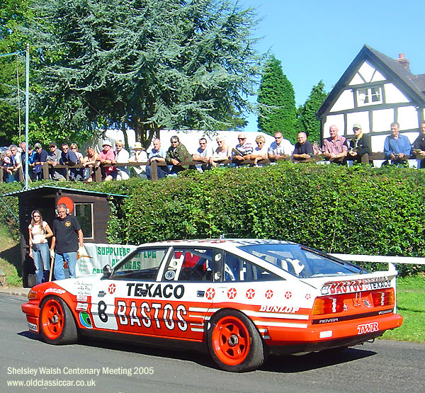 Rover SD1 photograph at Shelsley Walsh in Worcestershire ...