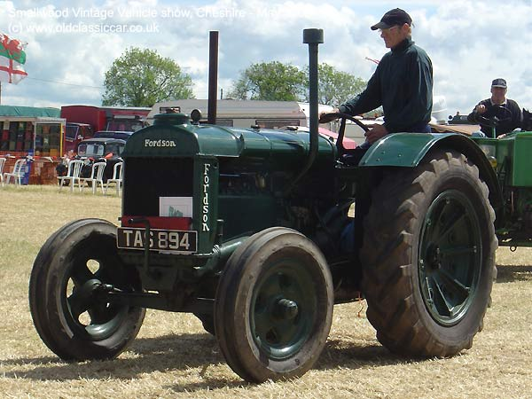 Tractor from Fordson