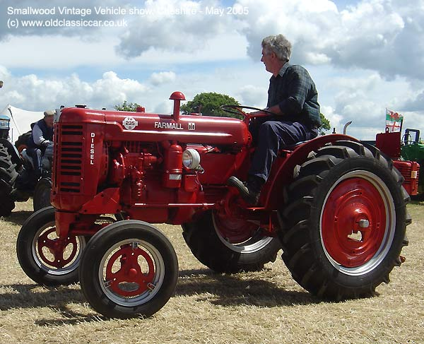 Tractor from Farmall