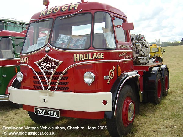 Lorry from Foden