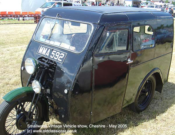 3 wheel van from Reliant