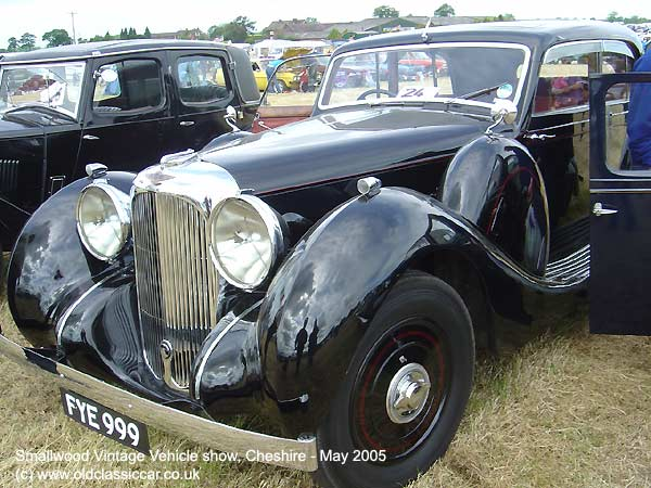saloon from Lagonda