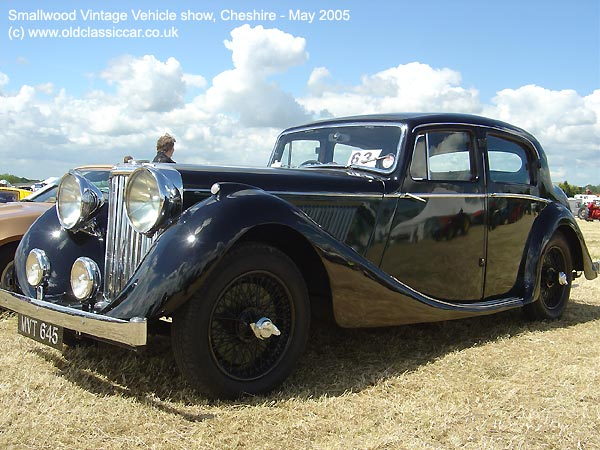SS saloon from Jaguar