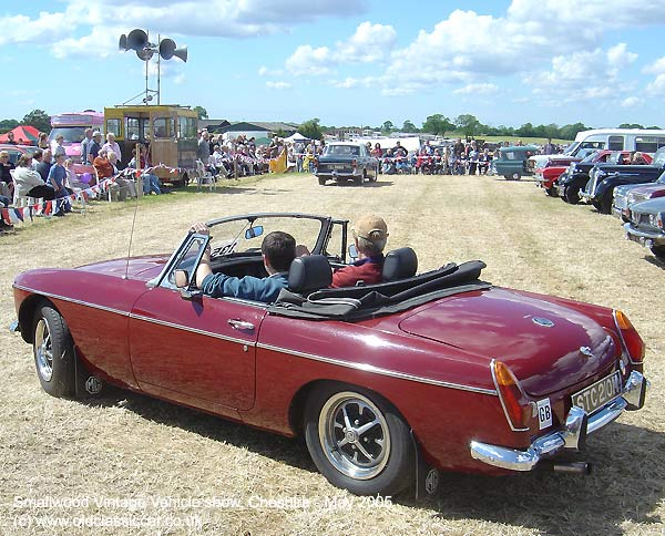 MGB roadster from MG