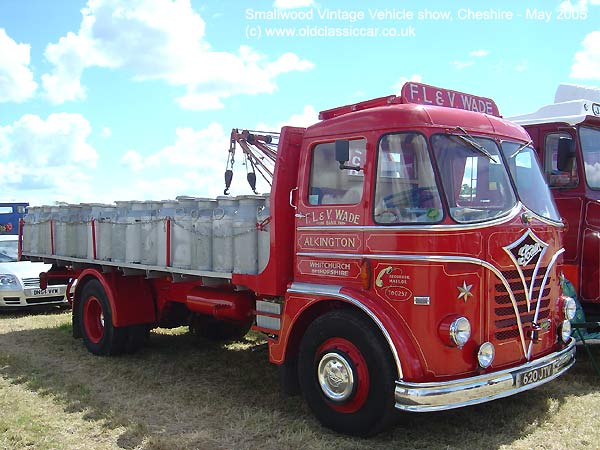 Flatbed lorry from Foden