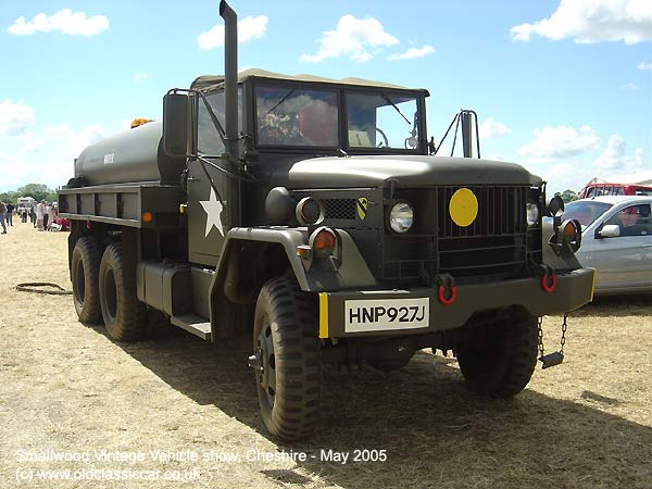 Tanker from M35