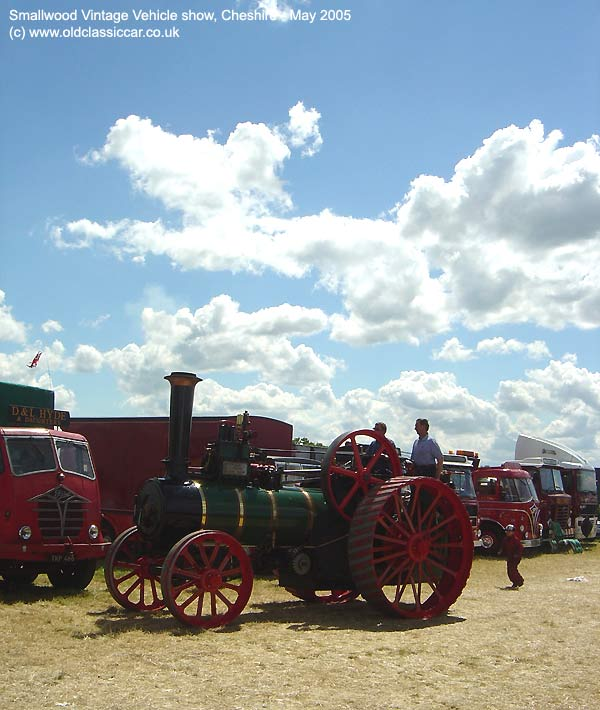 Traction engine from Steam