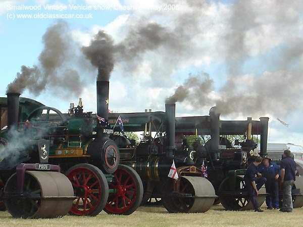 Traction engines from Steam