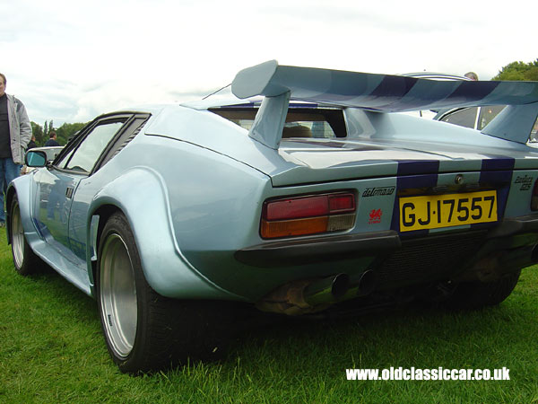 Detomaso GT5 that I saw at Tatton in June 05.