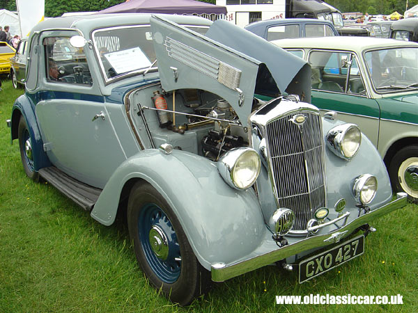 Wolseley Coupe that I saw at Tatton in June 05.
