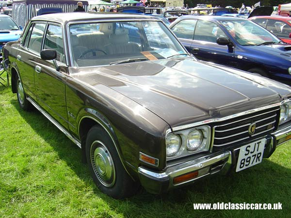 Toyota Crown Saloon Picture From A Vintage Classic Car Show