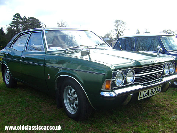 Ford Cortina Mk3 GXL picture