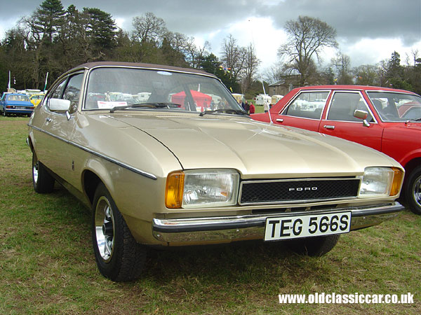 ford capri mk2 photo at weston park pic of 105. Black Bedroom Furniture Sets. Home Design Ideas