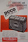 Duco battery from  Brown Brothers