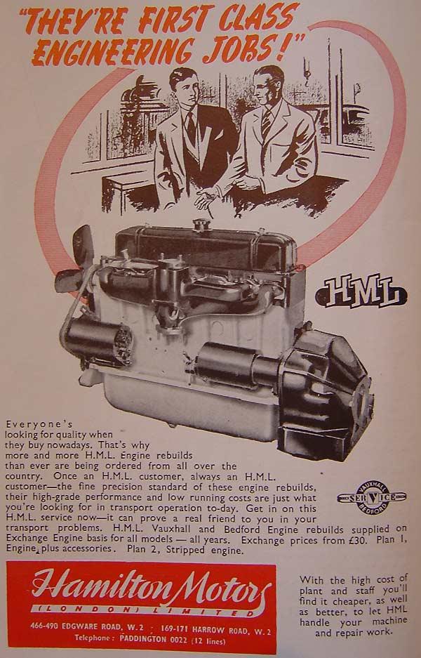 Reconditioned Engines From Hamilton Motors Ltd