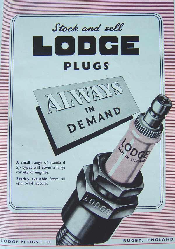 Spark Plugs from Lodge Plugs Ltd
