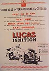 Lucas ignition components from  Joseph Lucas Ltd